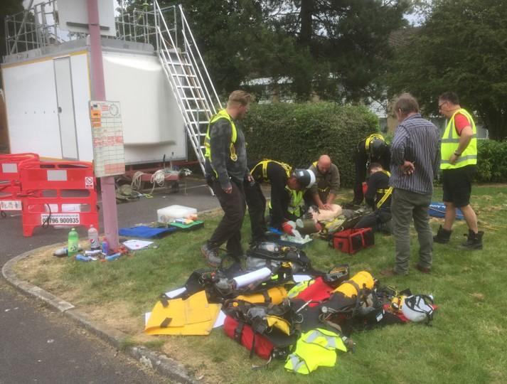 C&G 6150-05 rescue training Swindon