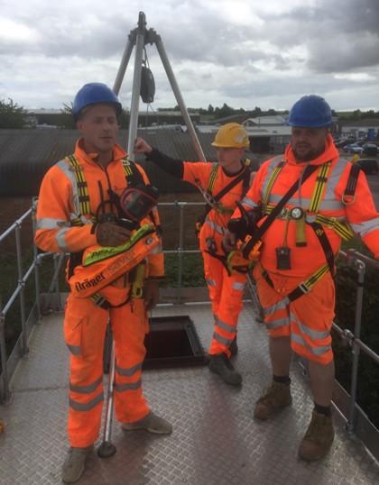 City & Guilds 6150-02 Medium risk training course Calne Wiltshire