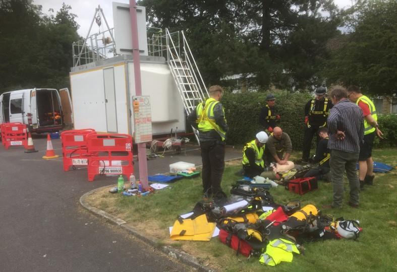 City & Guilds 6150-05 Rescue course