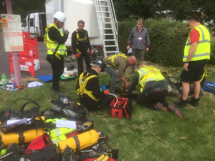 City & Guilds rescue training