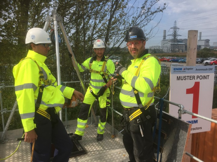 Confined spaces training Bristol & Avonmouth