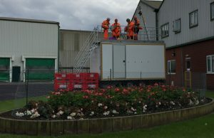 Confined spaces training Howden Dyke evergreen gardening