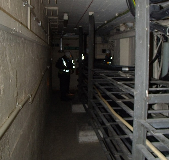 Confined spaces training for BT in London