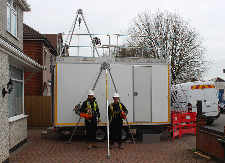 Medium risk confined spaces ticket Coventry