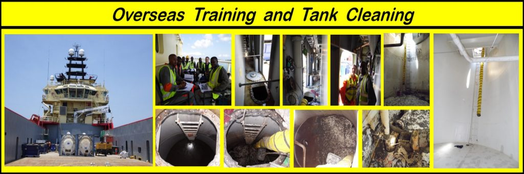 overseas tank cleaning