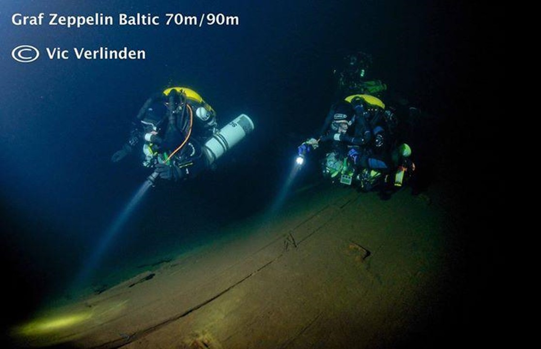 Pete & buddies Expedition Diving Graf Zeppelin Baltic sea