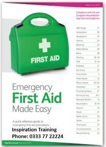 Qualsafe Emergency First Aid at Work course