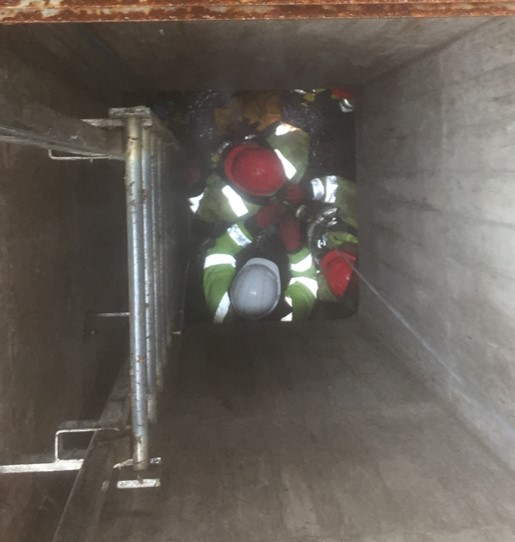 UKPN Tunnel rescue at Deptford